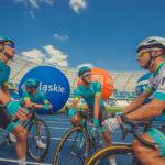 Historyczny start kolarzy ze Śląskiego