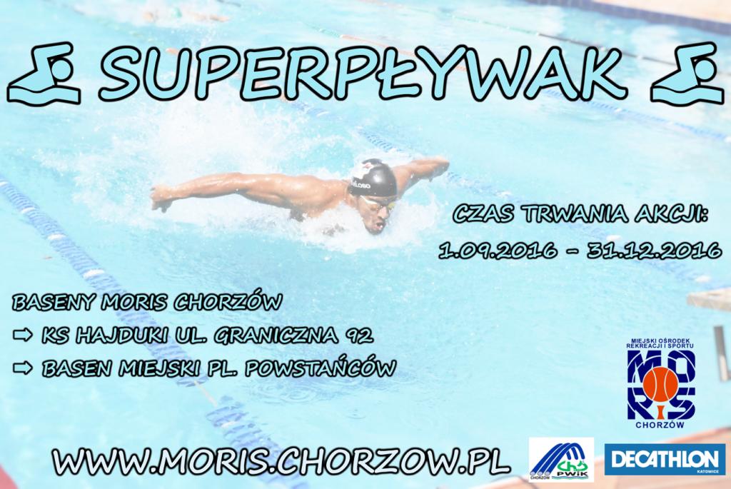 Zostań superpływakiem!