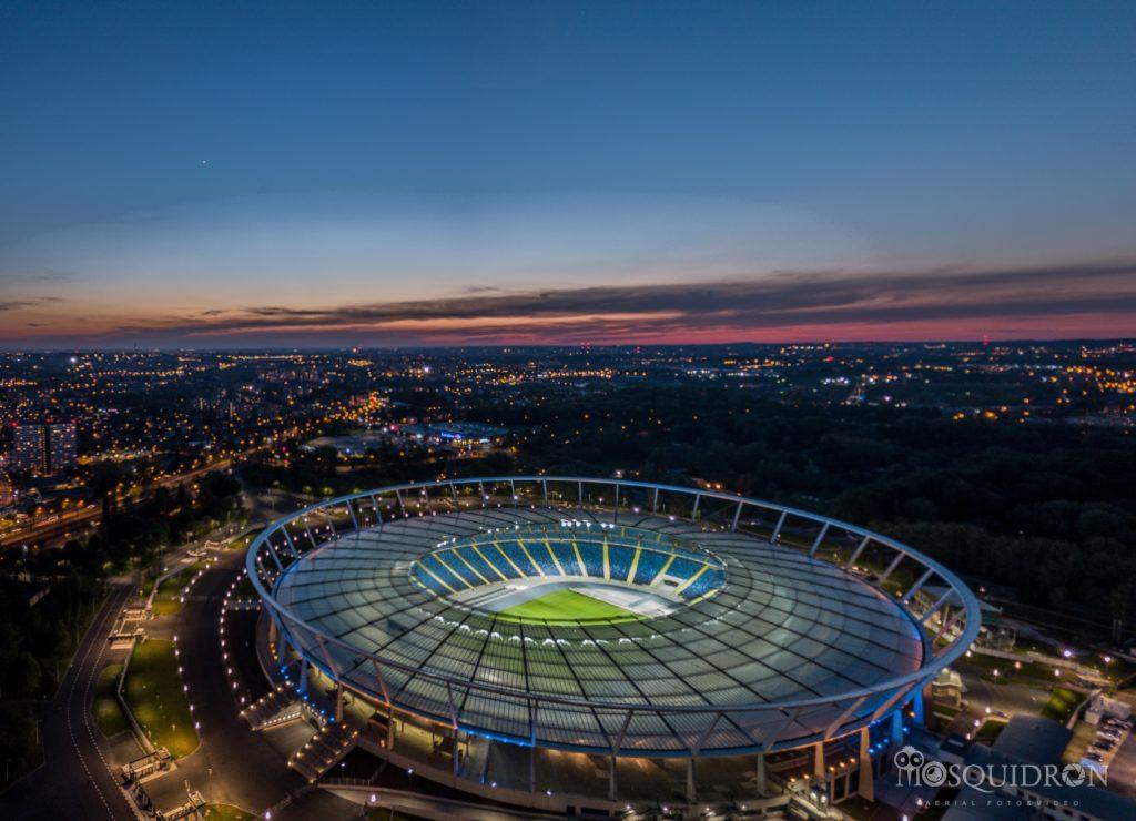 Stadion Śląski rozświetlił się dla Olimpiad Specjalnych
