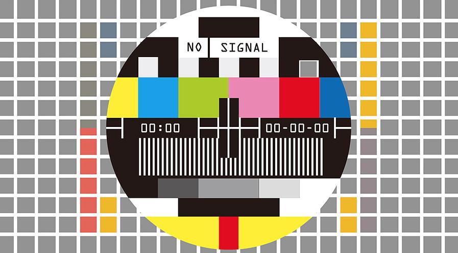 Zakłócenia sygnału telewizji naziemnej.