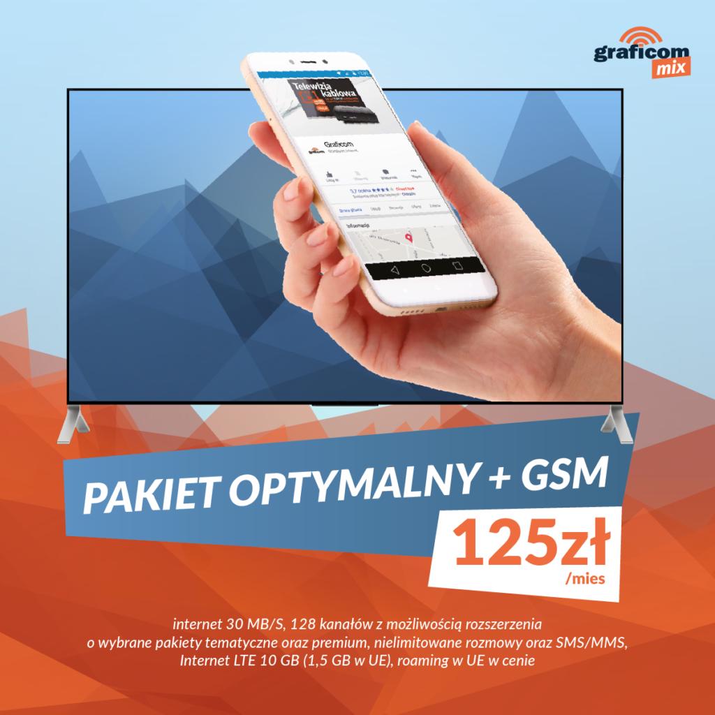 Internet, telewizja kablowa, internet LTE i telefonia GSM – Graficom