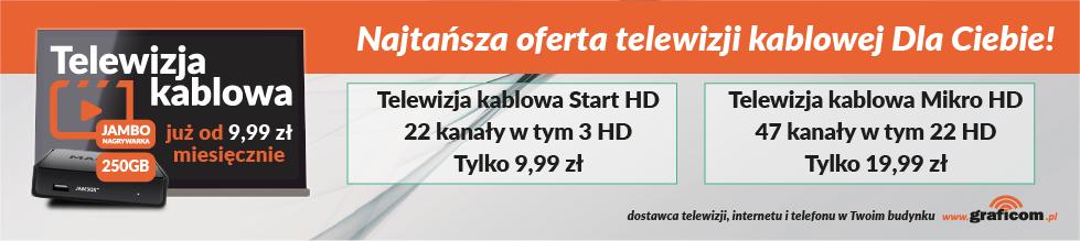 telewizja kablowa,graficom,internet,Chorzów,Ruda Śląska