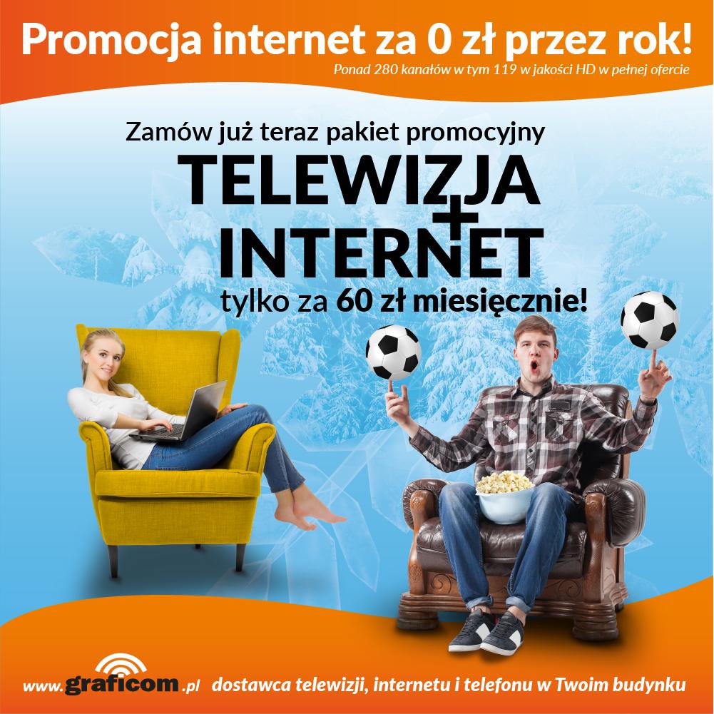 Promocja zimowa 2017 telewizja, internet, telefon