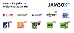 Pakiet Wielotematyczny Super HD uzupełniony został o VIASAT Explore, VIASAT History, VIASAT Nature, VIASAT History HD, VIASAT Nature HD, MusicBox HD