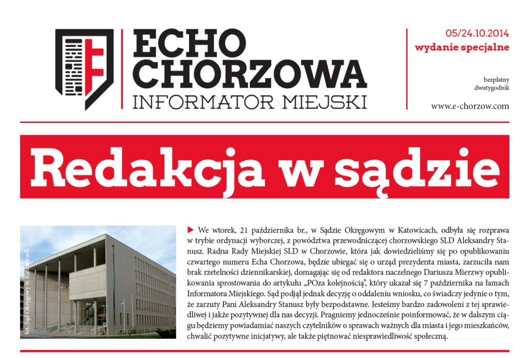 Echo Chorzowa nr 5