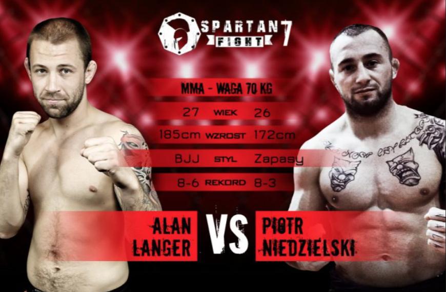 Gala MMA Spartan Fight 7 – 1.04 – Chorzów
