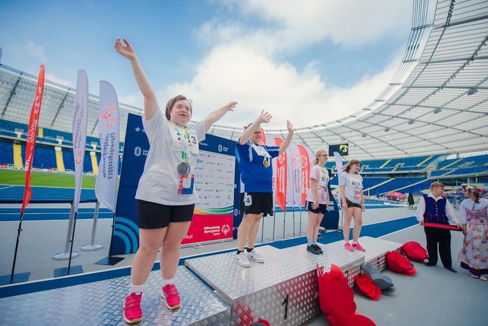 Olimpiady Specjalne gościły na Śląskim