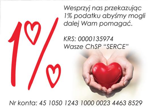 1% podatku dla chorzowskich organizacji.