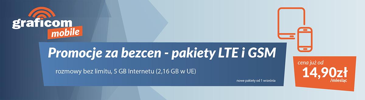 internet domowy bez limitów, do 500 Mb/s